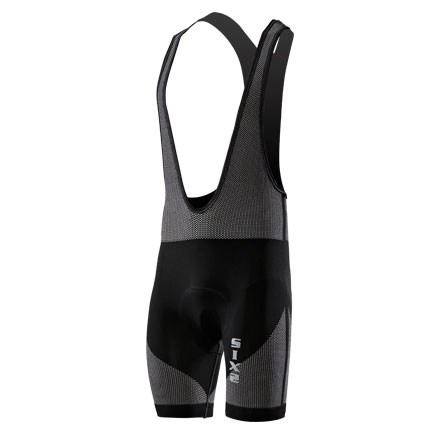 Short Dungarees intimate with bottom Sixs Black