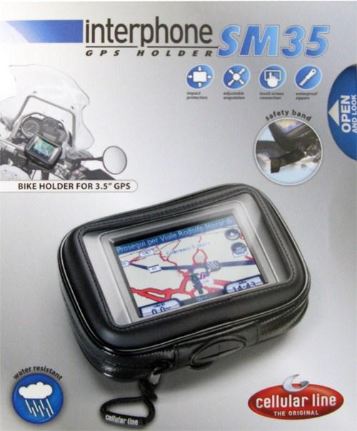 Porta navigatore Cellular Line impermeabile dispositivi fino3.5'