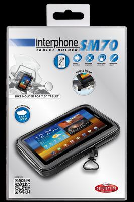 Supporto Porta Tablet 7 pollici manubri tubolari Cellular Line