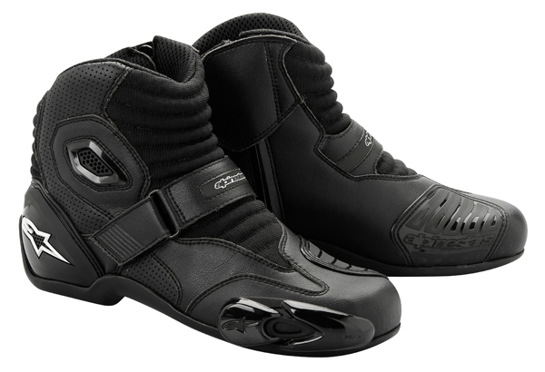 Alpinestars S-MX 1 motorcycle riding shoes black