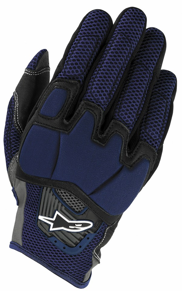 Guanti moto cross Alpinestars S-MX 6 blu