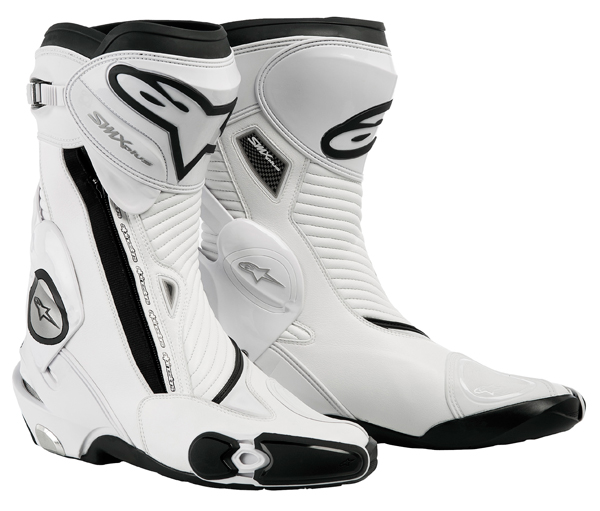 Alpinestars Smx Plus motorcycle boots white