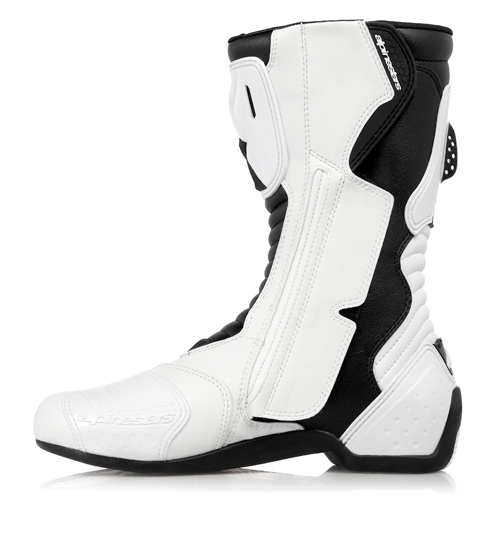 Stivali moto racing Alpinestars S-MX 5 bianchi-neri