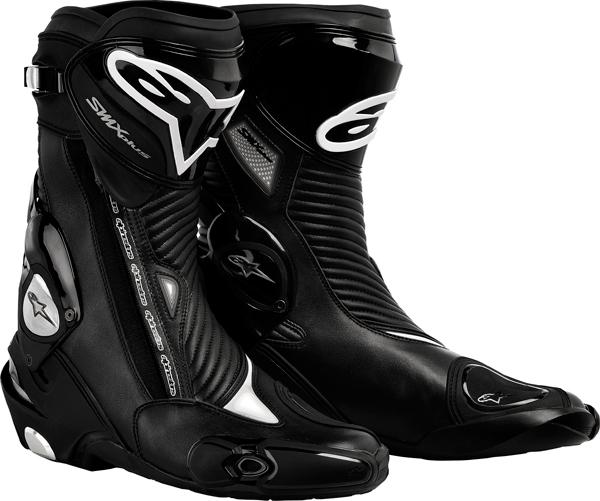 Alpinestars S-MX Plus motorcycle boots black