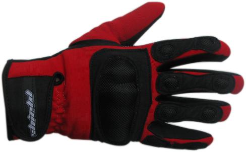 Shield Sum summer gloves Red