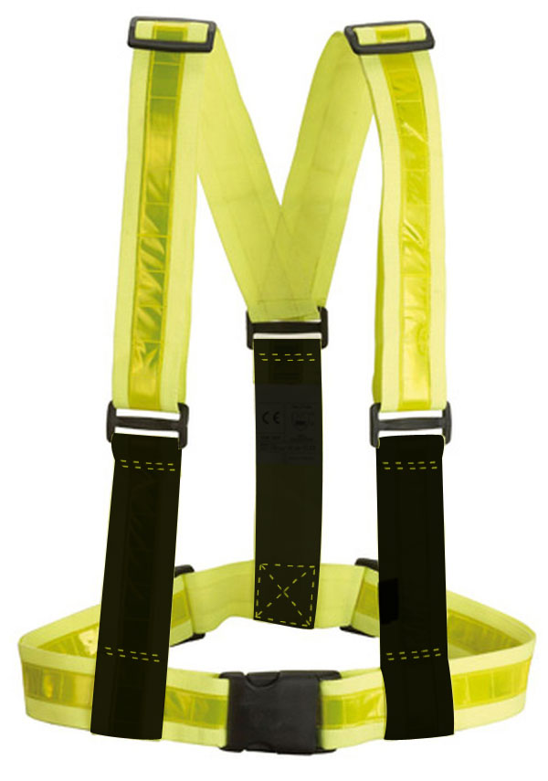 Braces Archimede High Visibility