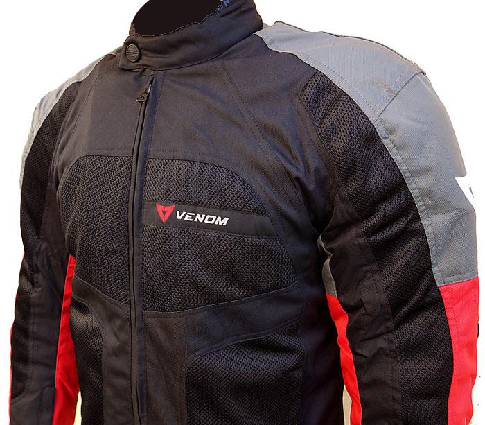 Venom Sport Air all seasons jacket Grey Red
