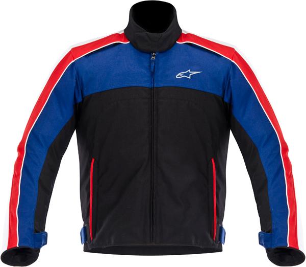 Alpinestars SOLARIS textile jacket black-white-blue-red