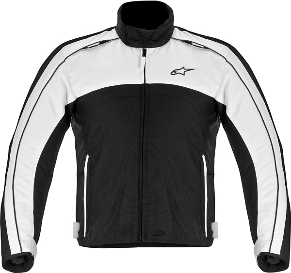 Alpinestars SOLARIS textile jacket black-white