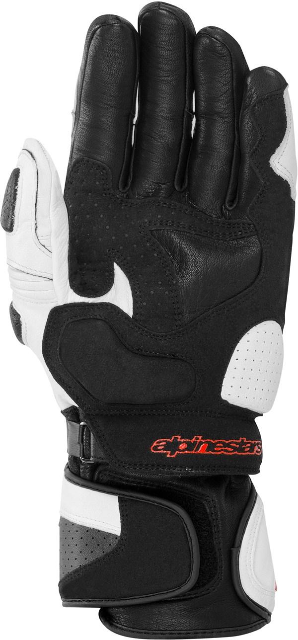 Alpinestars SP-1 leather gloves white