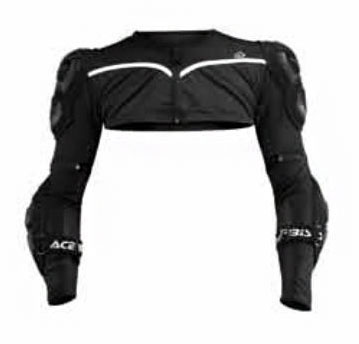 Acerbis Cosmo replacemente shoulders level 2 White