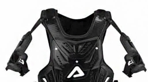 Acerbis Cosmo MX shoulders replacemente level 2 White