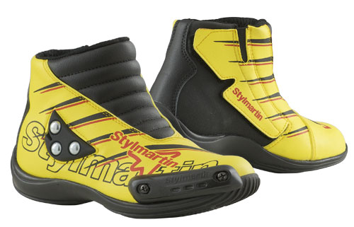 Stylmartin Speed JR S1 kid Minimoto Shoes yellow