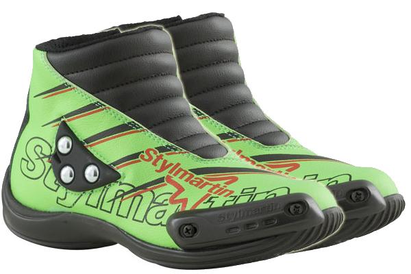 Stylmartin Speed JR S1 kid Minimoto Shoes green
