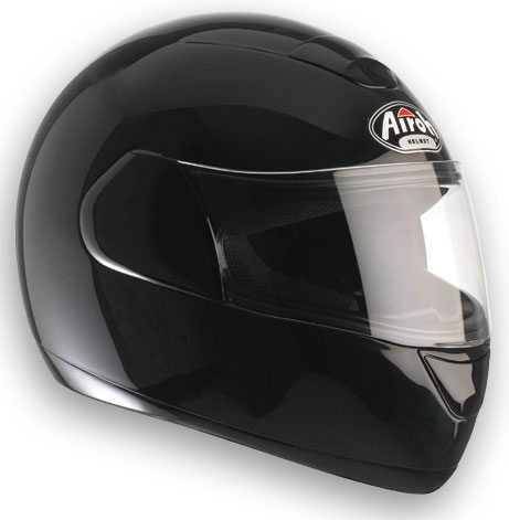 Casco moto Airoh Speed Fire Color Black Gloss