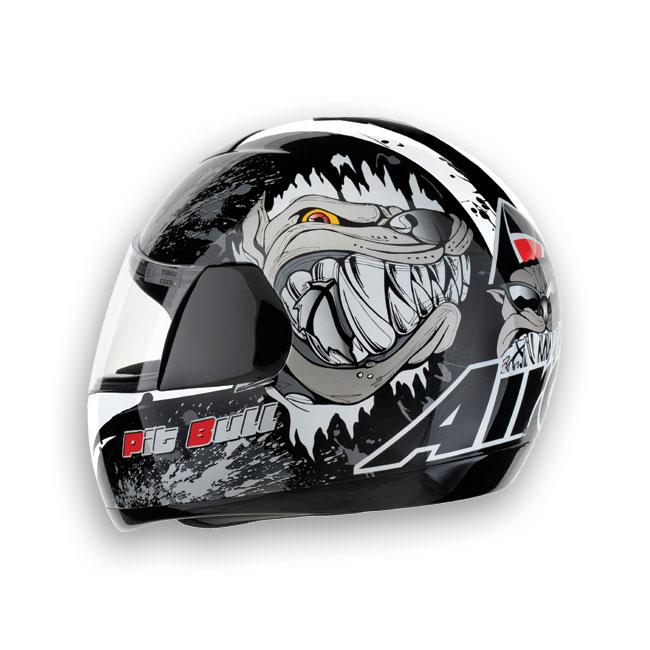 Casco moto Airoh Speed Fire Bull