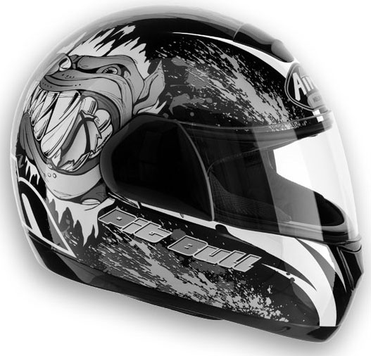 AIROH Speed Fire Bull Full Face Helmet