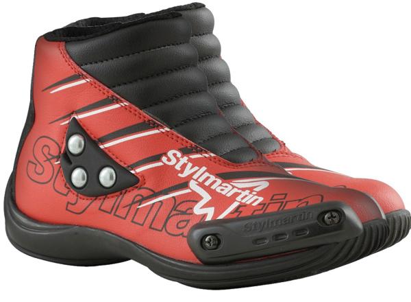 Stylmartin Speed JR S1 kid Minimoto Shoes red