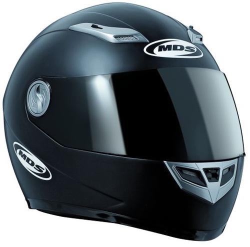 MDS by AGV Sprinter Mono Full Face Helmet - Col. Matt Black