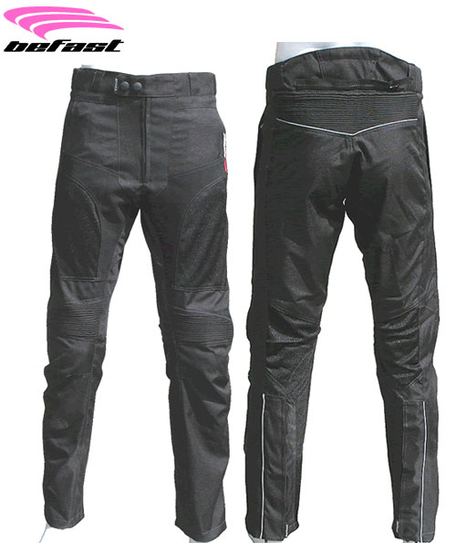 Pantaloni moto donna estivi Befast  Zero Lady neri