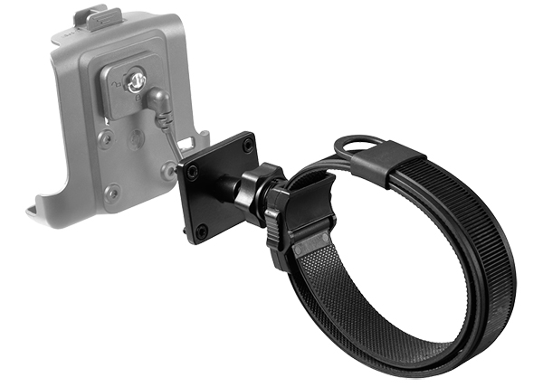 Interphone Mounting system for use on non-tubular handlebars