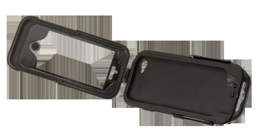 Supporto Porta IPhone5 nero manubri non tubolari Cellular Line