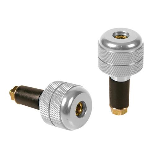 Stabilizzatori universali argento per manubri fori 13 - 17 mm