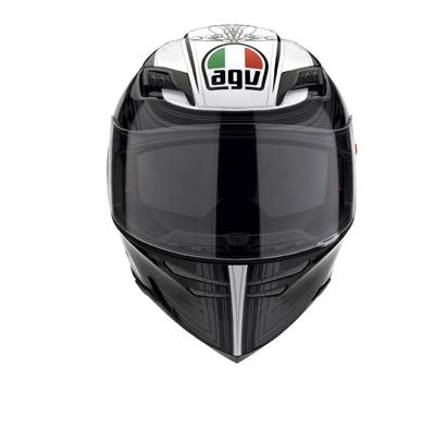 AGV Stealth SV Multi Track Full Face Helmet - Black/Gunmetal