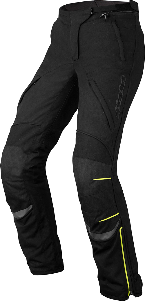 Alpinestars Stella New Land Gore-Tex pants black-yellow fluo