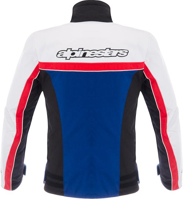 Giacca moto Alpinestars Stella Solaris TX nero bianco blu rosso