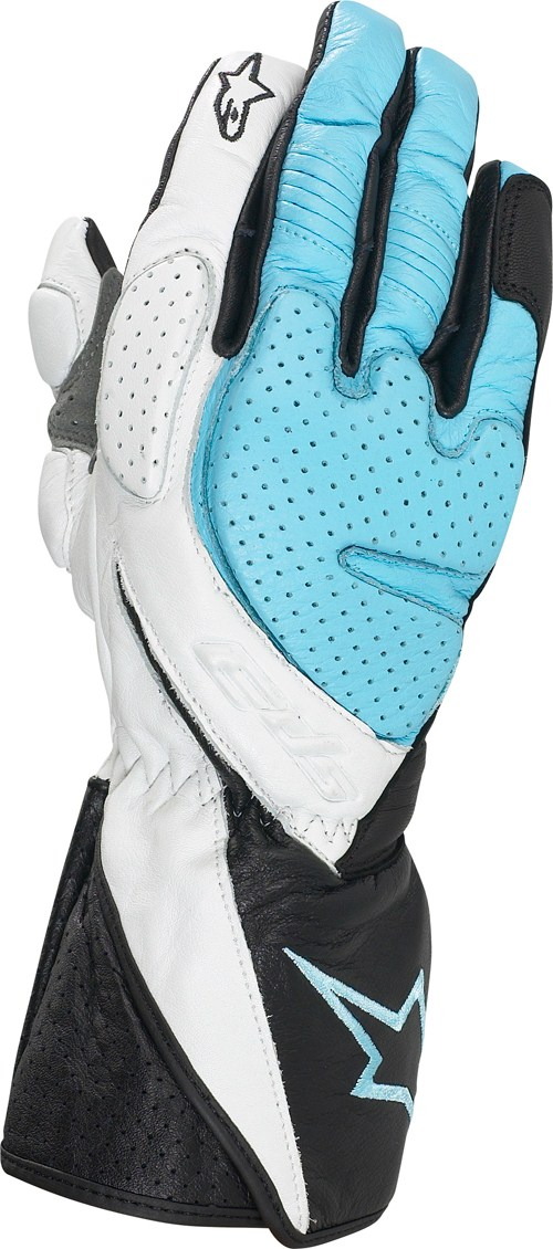 Alpinestars Stella SP-3 women gloves blu chiaro
