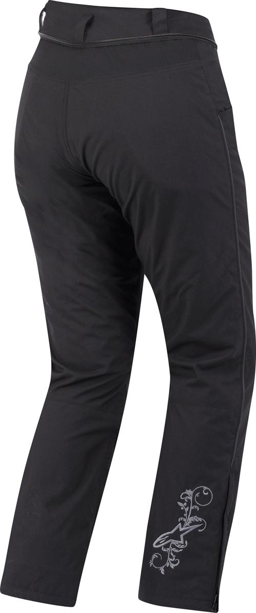 Pantaloni moto donna Alpinestars Stella Switch DRYSTAR neri