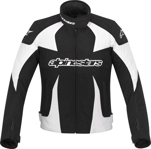 Giacca moto donna Alpinestars Stella T-GP Plus nero-bianca