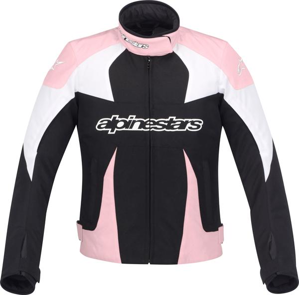 Alpinestars Stella T-GP Plus woman jacket black-pink-white