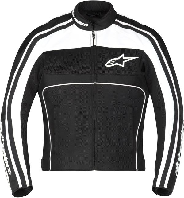 Giacca moto donna Alpinestars Stella T-DynoAir nero bianco