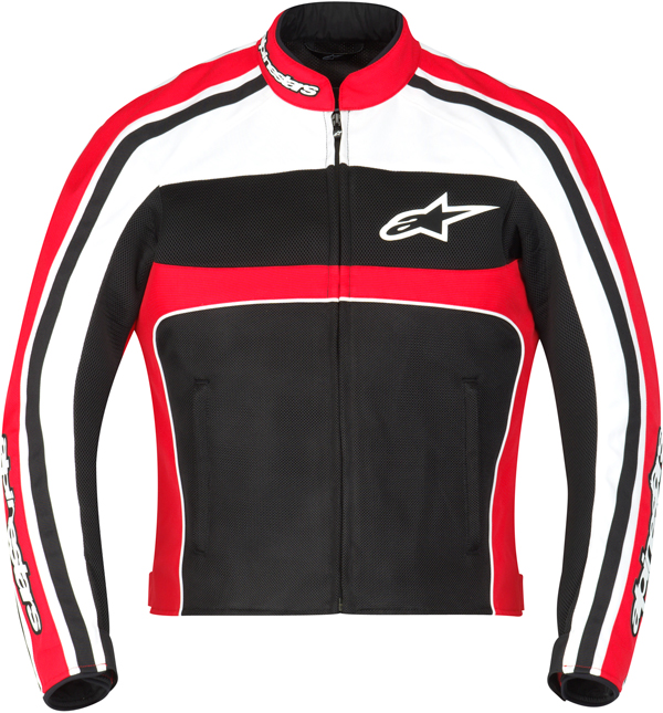 Alpinestars Stella T-Dyno Air jacket Black-red-White