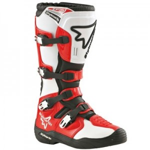 Boots Off Road Gear red Stylmartin