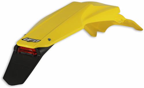 Ufo rear fender with Led Suzuki Yellow RM 01-12