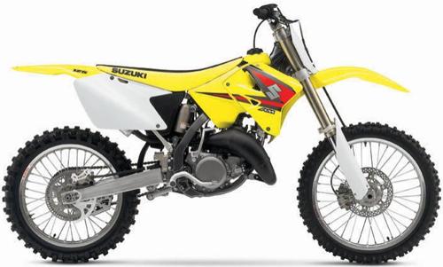 Kit plastiche moto Ufo Suzuki RM 125-250cc 03-05 Bianco