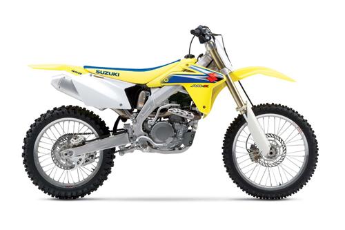 Ufo replacement plastics Suzuki RMZ 450cc 05-06 White