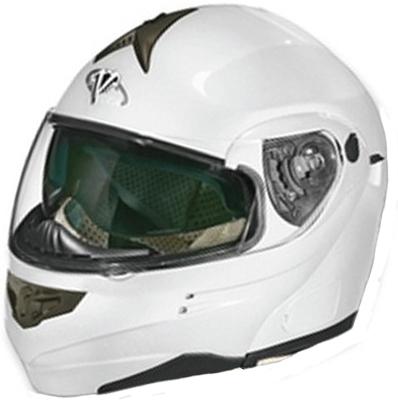Vega SUMMIT-3 flip off helmet PearlWhite