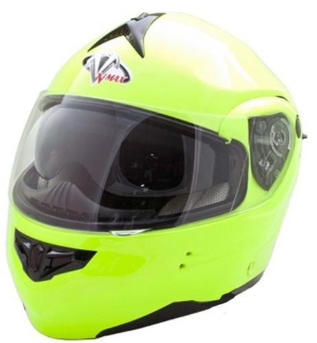 Vega SUMMIT-3 flip off helmet FluoYellow