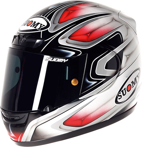 Casco moto integrale Suomy Apex Cool Red