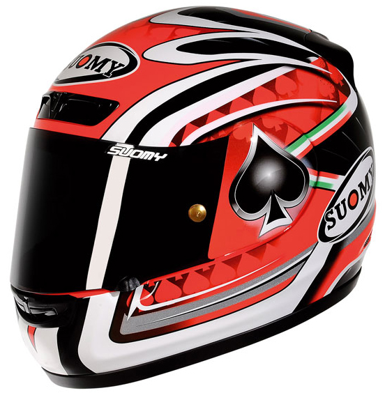 Casco moto integrale Suomy ApeFabrizio Replica