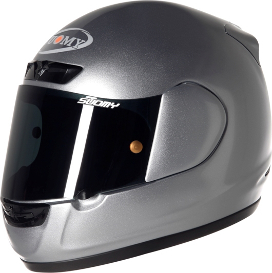 Casco moto integrale Suomy ApePlain antracite