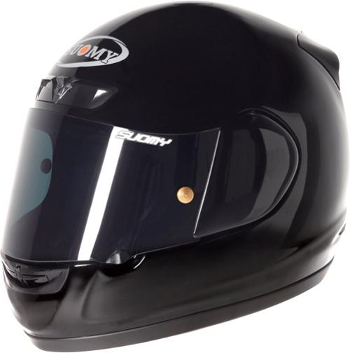 Casco moto integrale Suomy Apex Plain nero lucido