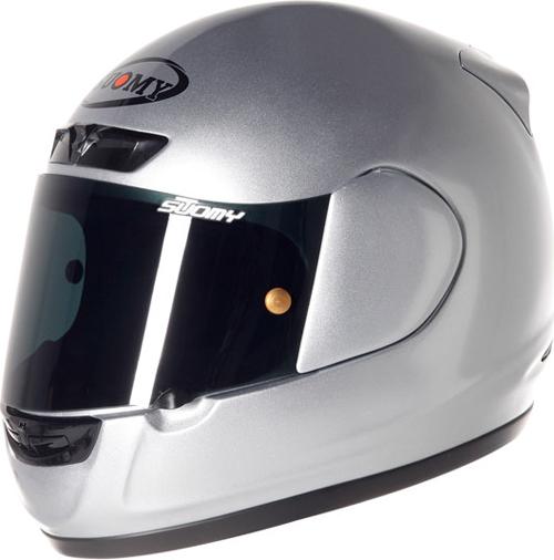 SUOMY Apex Plain full-face helmet silver
