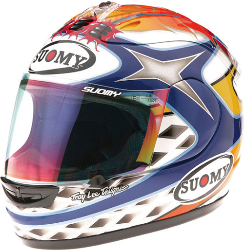 Casco moto integrale Suomy Excel Chief Blue