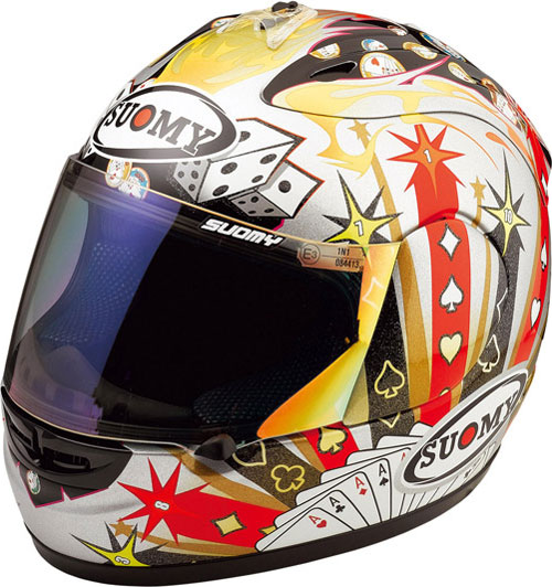 Casco moto integrale Suomy Excel Gamble