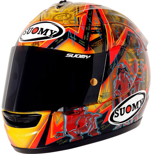 Casco moto integrale Suomy Excel Wall Street